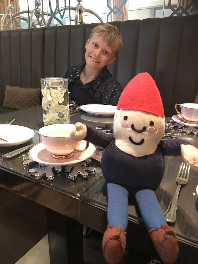Sofitel Sydney High Tea - with Ned