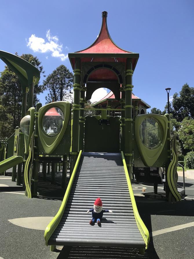 Roam the Gnome Family Travel Directory - Best playgrounds in Brisbane? Visit the Brisbane Botanic Gardens Adventure Playground
