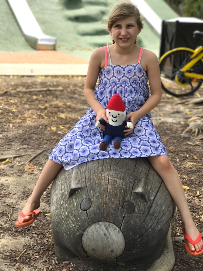 Sydney Park Playground sculptures pic