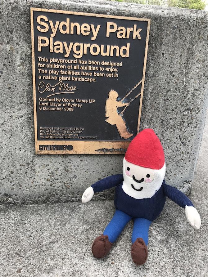 Sydney Park Playground sandpits pic