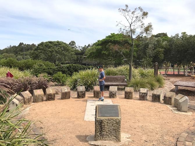 Sydney Park Playground Alexandria brick kilns pic