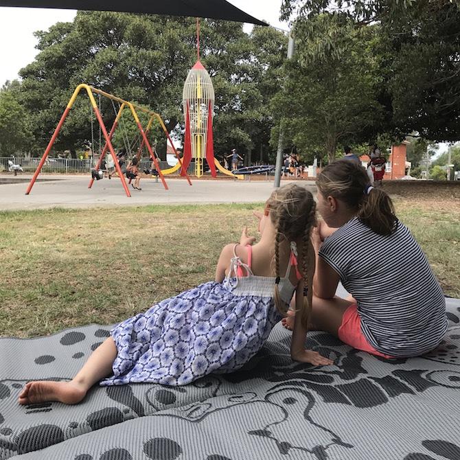 Roam the Gnome Family Travel Directory - Enmore Park Marrickville rocket ship play