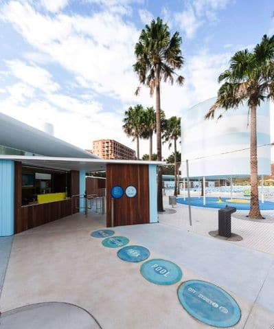 Roam the Gnome Family Travel Directory - Prince Alfred Park Pool entrance