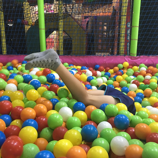 Visit ROAM THE GNOME Family Travel Directory for MORE SUPER DOOPER FUN ideas for family-friendly travel around the world. Search by City. Photo - Bali holidays with kids. Amazone indoor playground Discovery Mall Bali ball pit