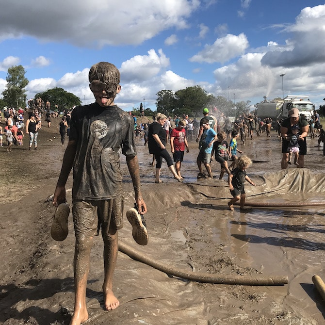 Visit ROAM THE GNOME Family Travel Directory for MORE SUPER DOOPER FUN ideas for family-friendly travel around the world. Search by City. Photo- Mud world Brisbane - Nature Play QLD
