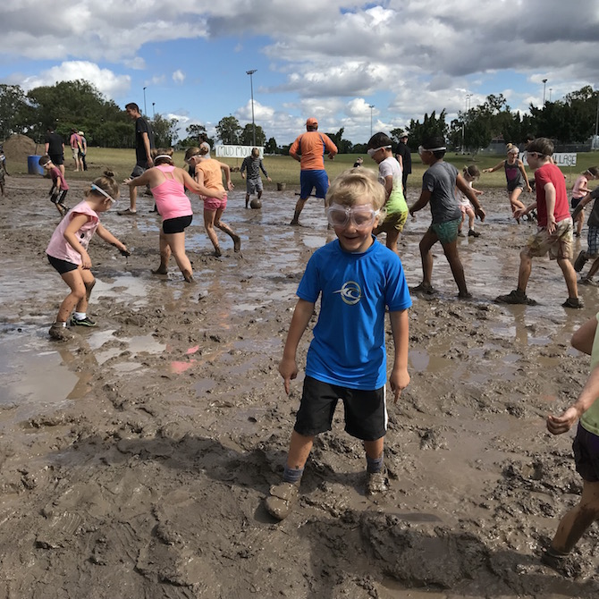 Visit ROAM THE GNOME Family Travel Directory for MORE SUPER DOOPER FUN ideas for family-friendly travel around the world. Search by City. Photo- Mudworld Brisbane mud village - Nature Play QLD