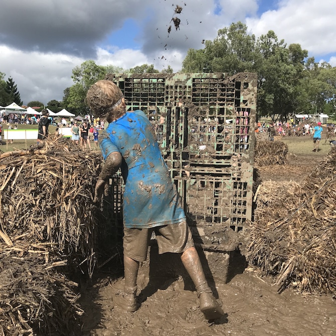 Visit ROAM THE GNOME Family Travel Directory for MORE SUPER DOOPER FUN ideas for family-friendly travel around the world. Search by City. Photo- Mudworld Ipswich mud mania