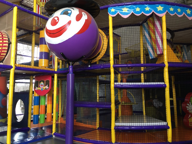 Visit ROAM THE GNOME Family Travel Directory for MORE SUPER DOOPER FUN ideas for family-friendly travel around the world. Search by City. Photo Yard Apes Indoor play centre structure