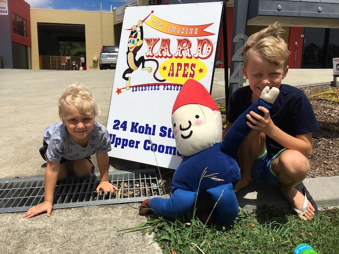 Visit ROAM THE GNOME Family Travel Directory for MORE SUPER DOOPER FUN ideas for family-friendly travel around the world. Search by City. Photo Yard Apes Indoor play centre