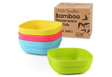 bamboo travel plates