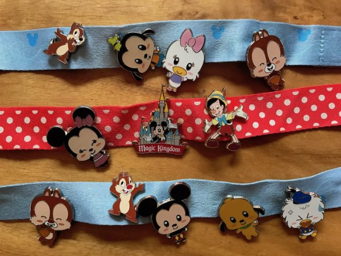 disney pins collection