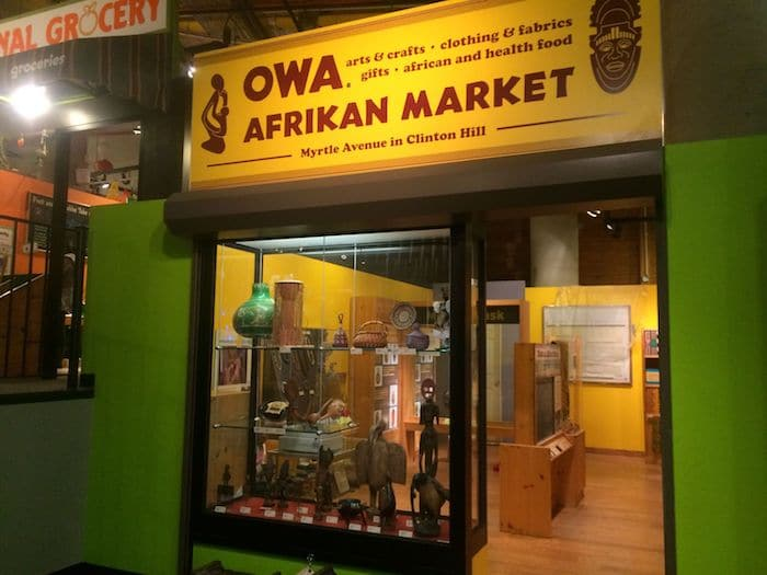 owa afrikan market at bcm