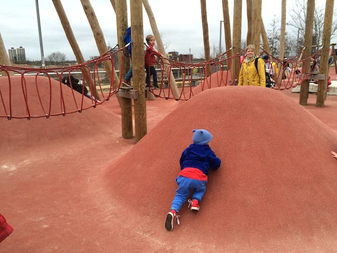 adventure playground olympic park pleasure gardens