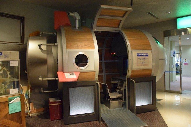 hiroshima children's museum space capsule