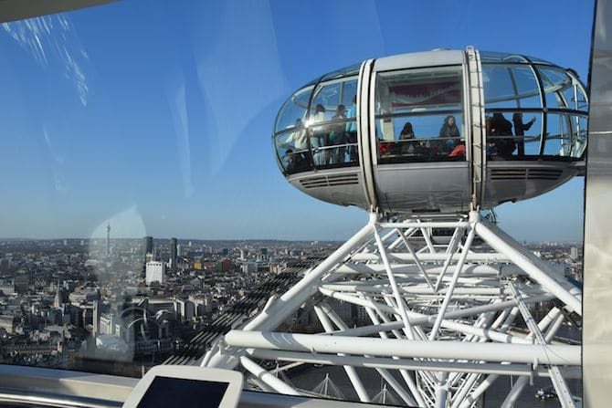 Visit london with kids - london eye