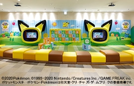 sunshine city building kids play area pic