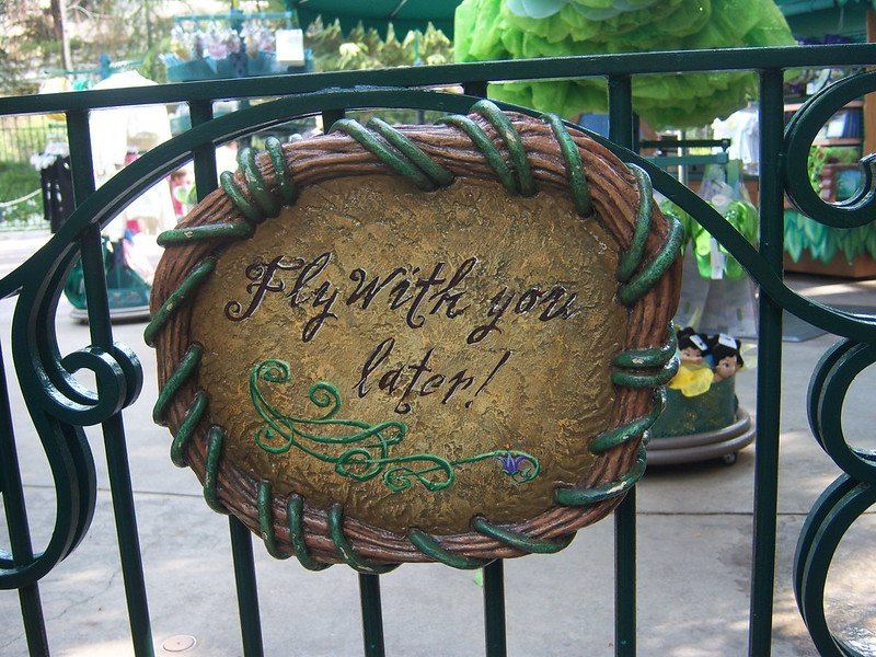 peter pan fly with you sign by loren javier