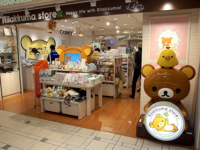 best shopping in japan