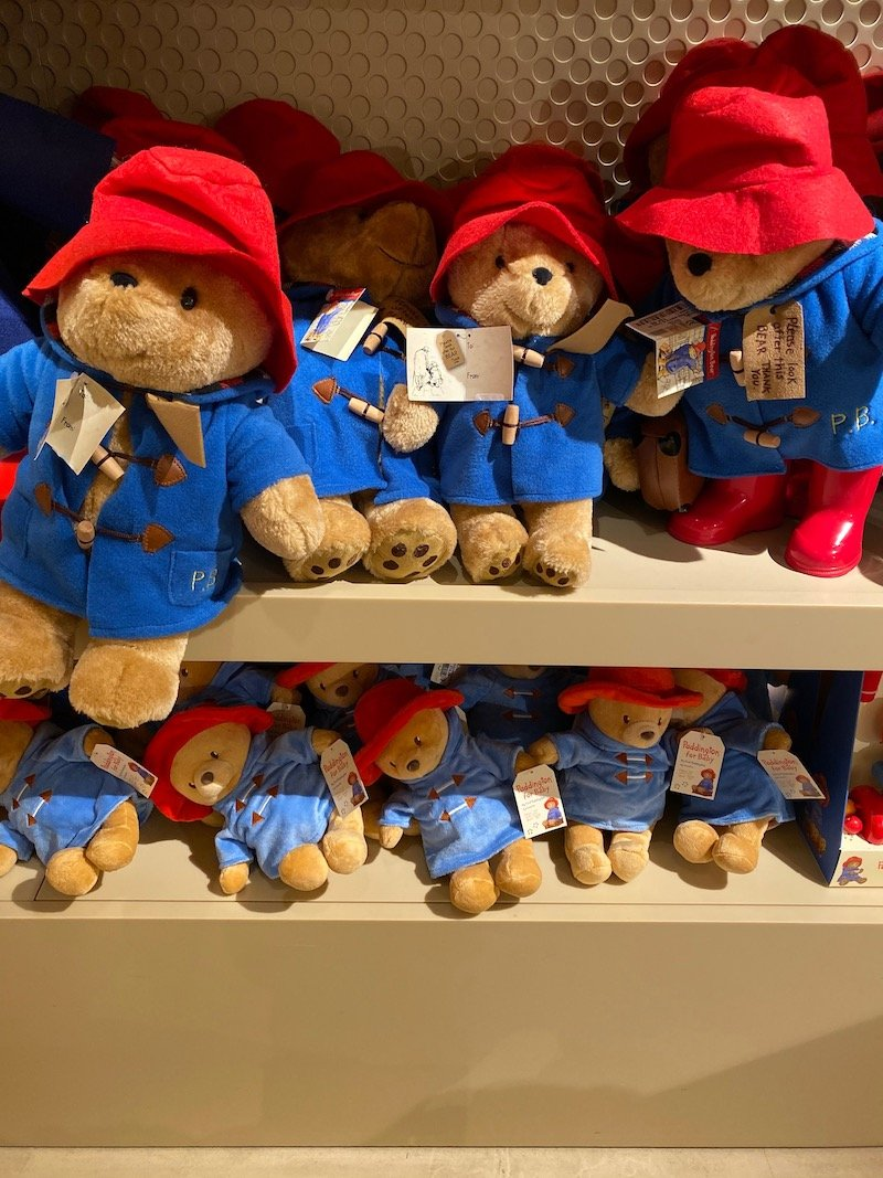 harrods paddington bear
