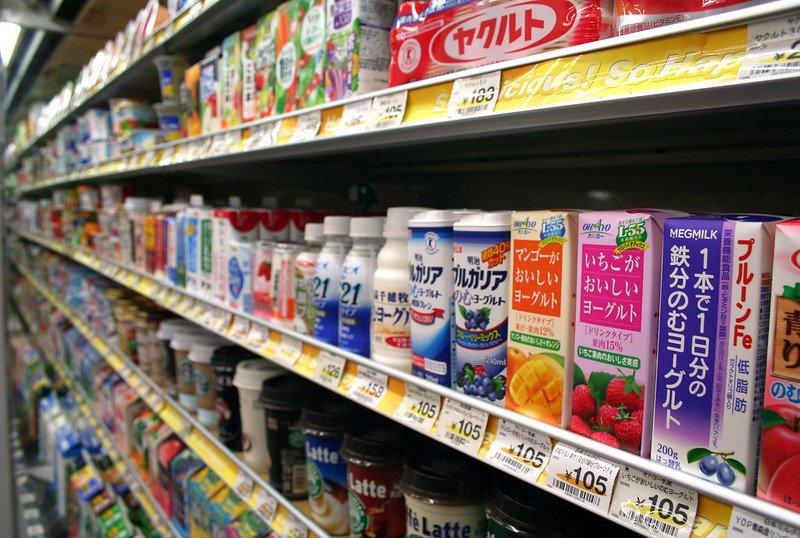 japanese drinks shelf pic by jon rawlinson