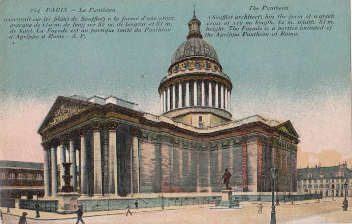 vintage rome postcards - italy souvenirs pic