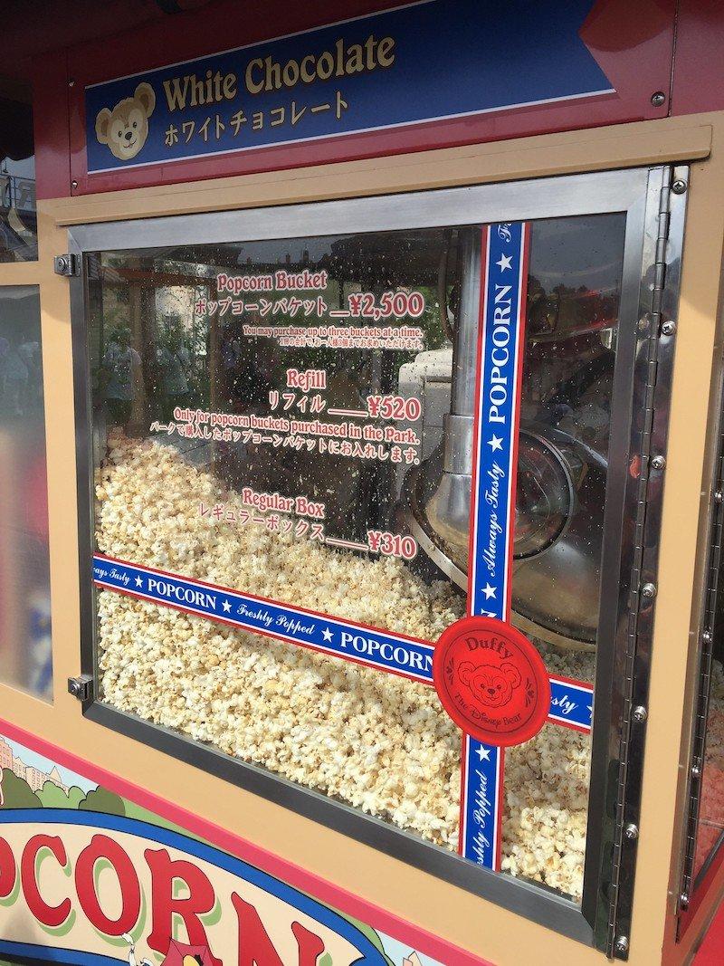 tokyo disneysea popcorn machine by joel