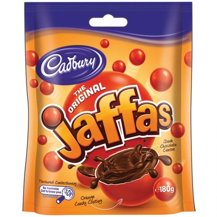 cadbury jaffas