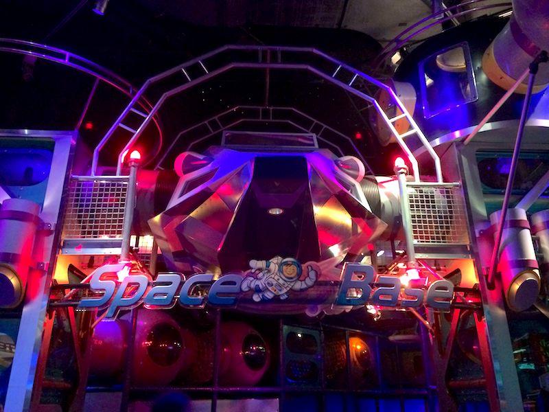 Disney World playgrounds - space base epcot