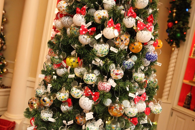 best disney souvenirs - disney tree ornaments at Epcot center