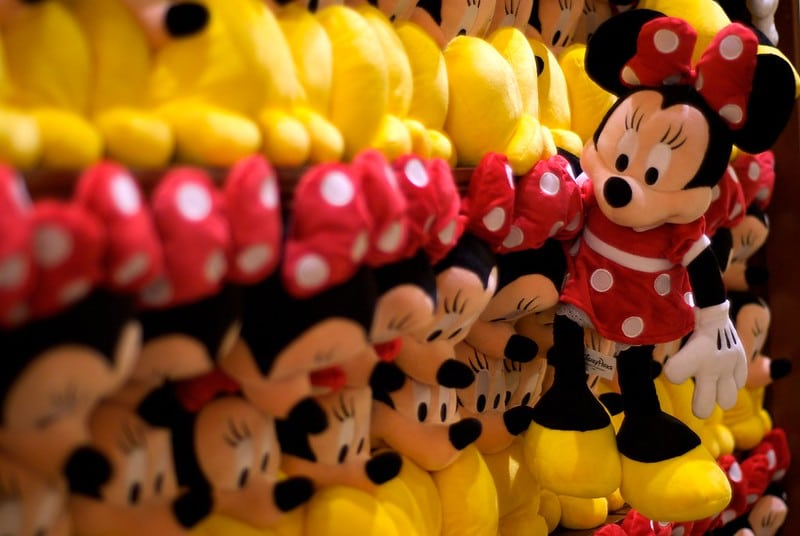 best disney souvenirs - minnie dolls
