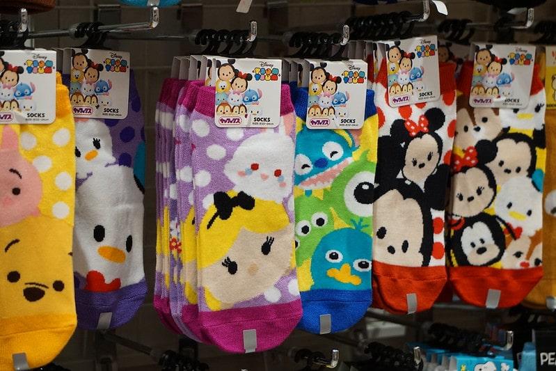 best disney souvenirs - tsum tsum socks pic