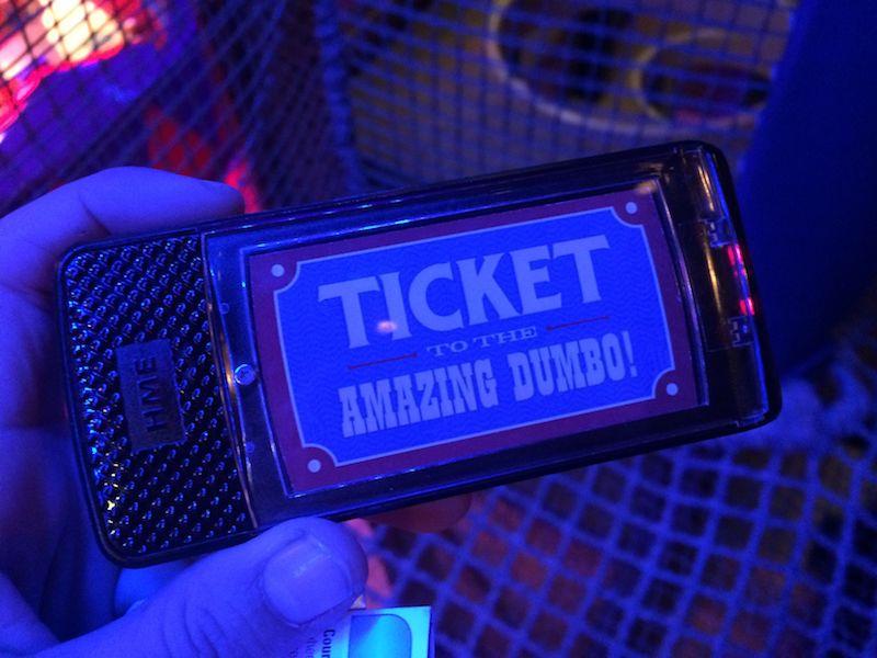dumbo interactive ride queue buzzer