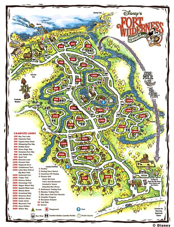 fort wilderness campground disney florida pic