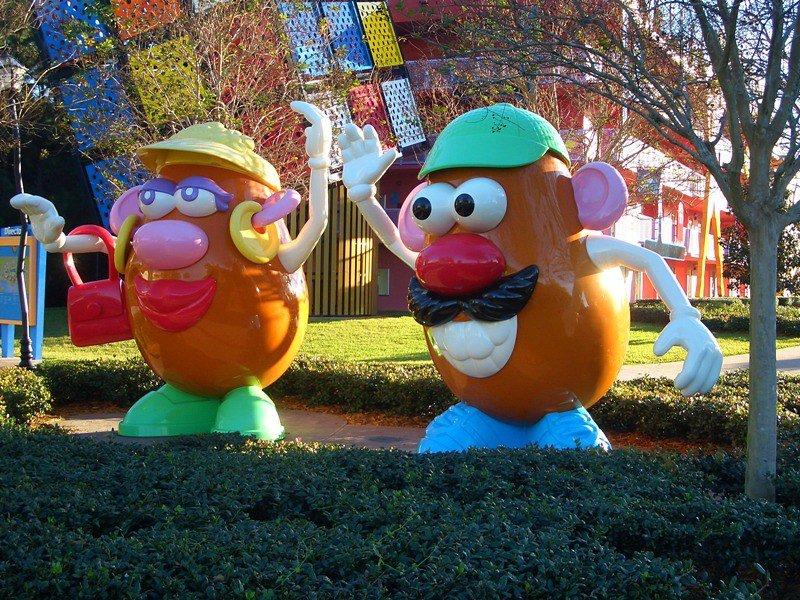 mr potato head at art of animation resort by matt howry