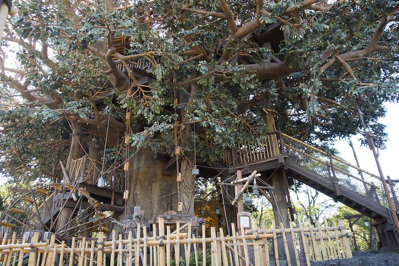 swiss family treehouse disney world playgrounds by ume-y