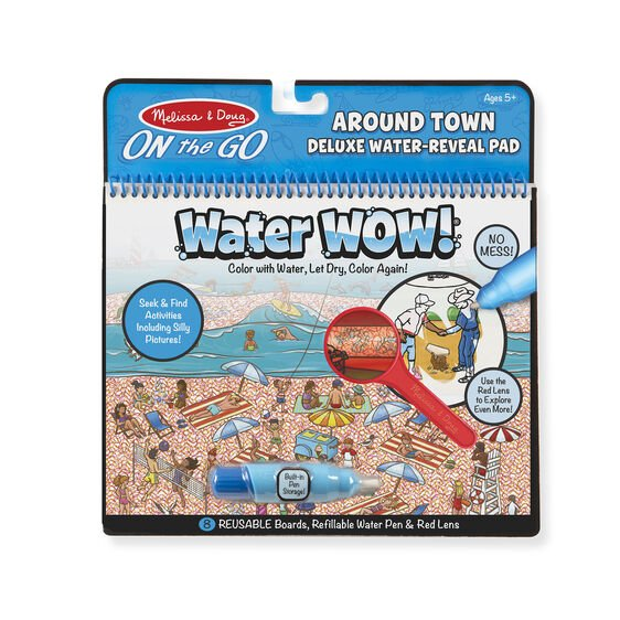 water wow books by melissa and doug