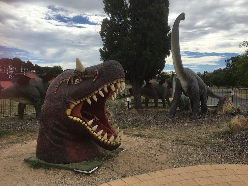 The National Dinosaur Museum Canberra exterior pic