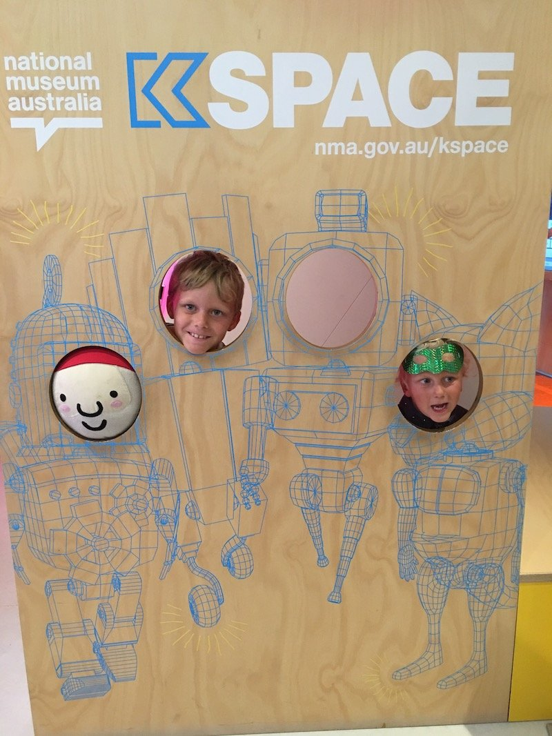 Photo- The National Museum Canberra Kspace NMOA