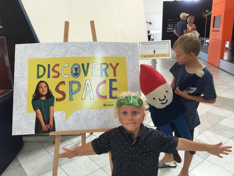 Photo- The National Museum Canberra discovery space