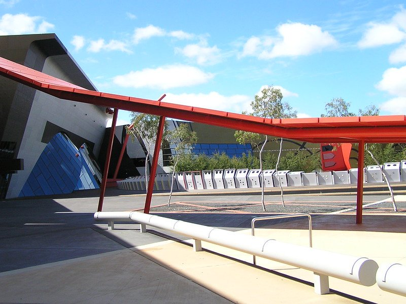 National Canberra Museum of Australia exterior pic