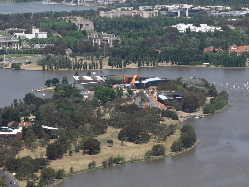 the canberra museum cafe pic