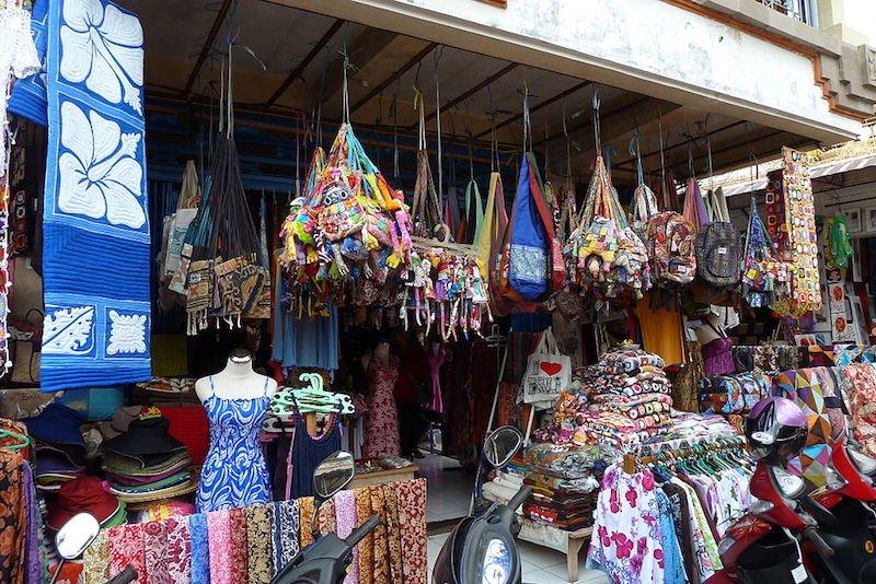 bali market shopping pic