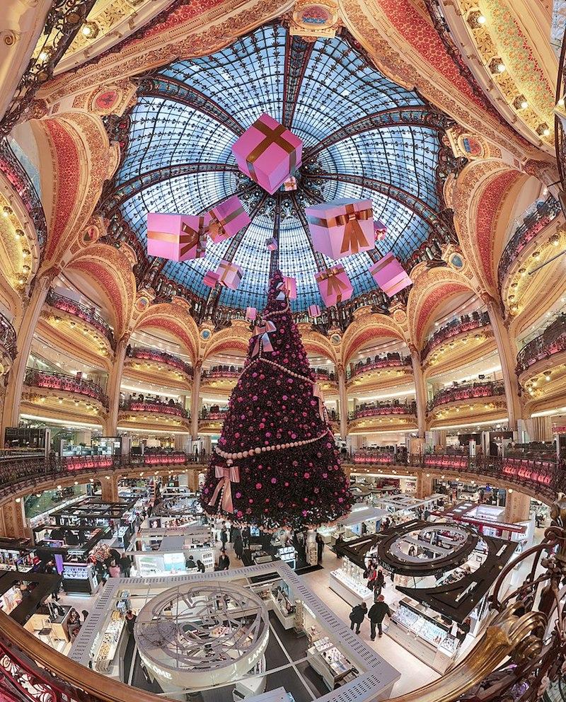 galerie lafayette in paris