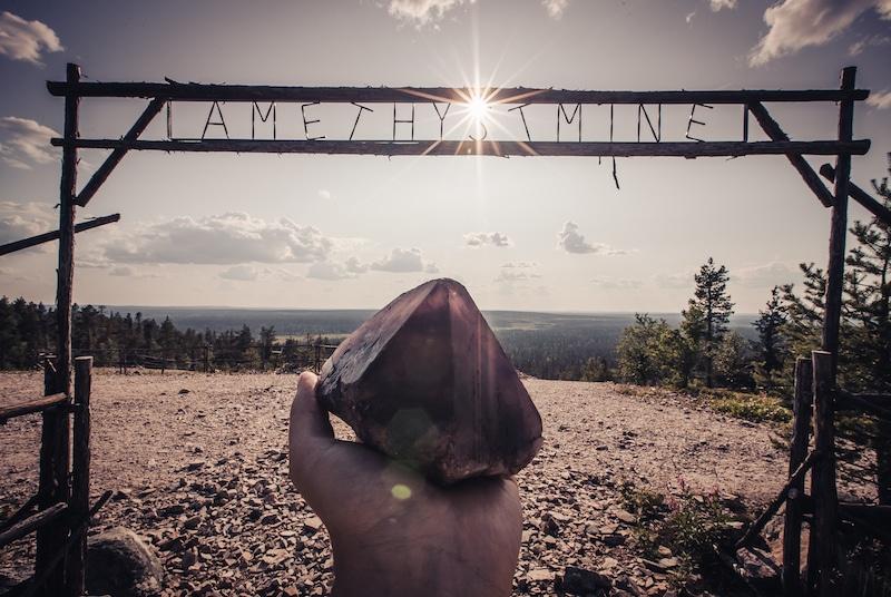 day tour to amethyst mine from Rovaniemi