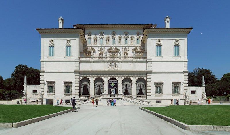 Galleria borghese facade