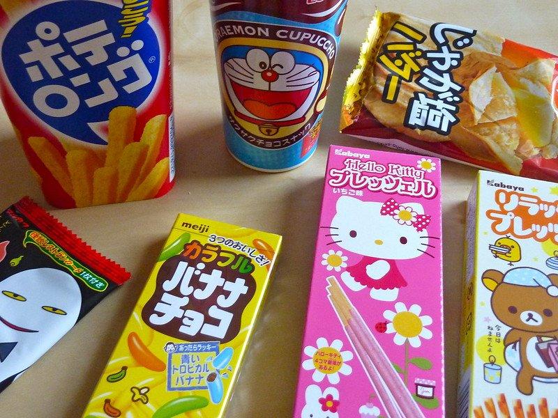 Japanese snacks by magnus d flickr
