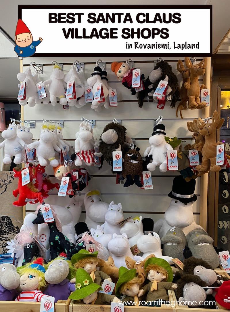 best santa claus village shops pic