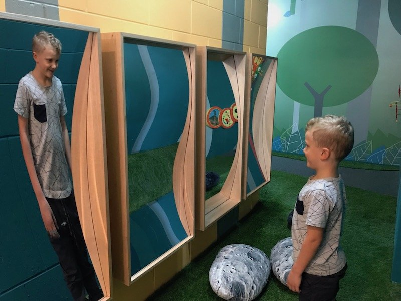 Photo - Free Tree Top Indoor Play Centre magic mirrors