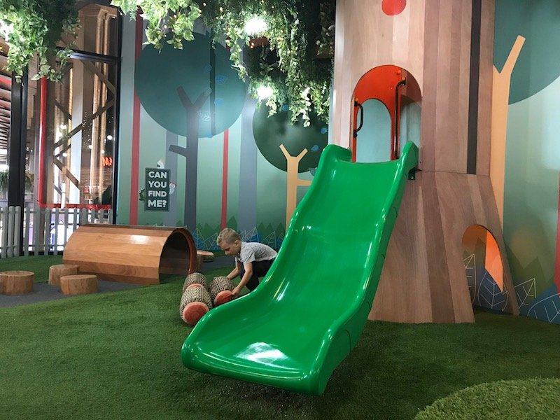 Photo - Tree Top Indoor Play Centre Gold Coast slide