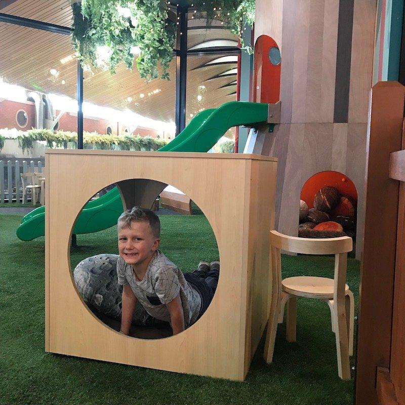 Photo - Robina Indoor Play Centre Gold Coast timber frame Jack